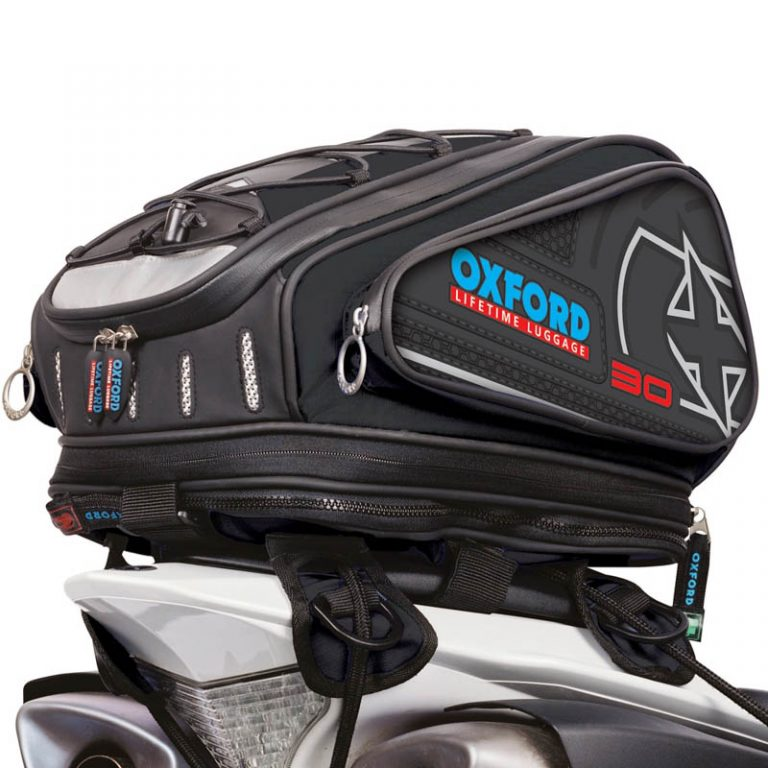 Oxford X30 Lifetime Tailpack 2014 brašna na sedadlo