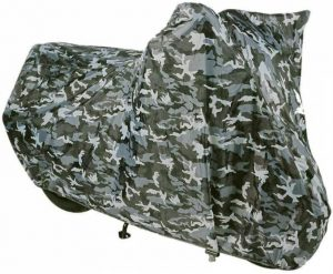 Oxford plachta na motorku Aquatex Camo
