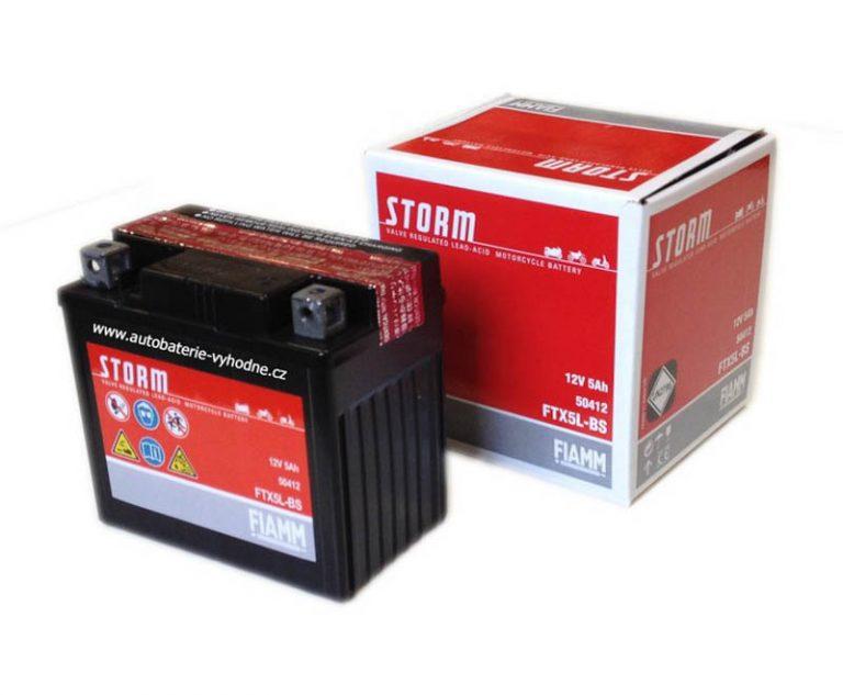 Fiamm FTX5L-BS (YTX5L-BS) 4Ah 50A