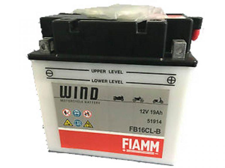 Fiamm FB16CL-B (YB16CL-B) 19Ah 200A
