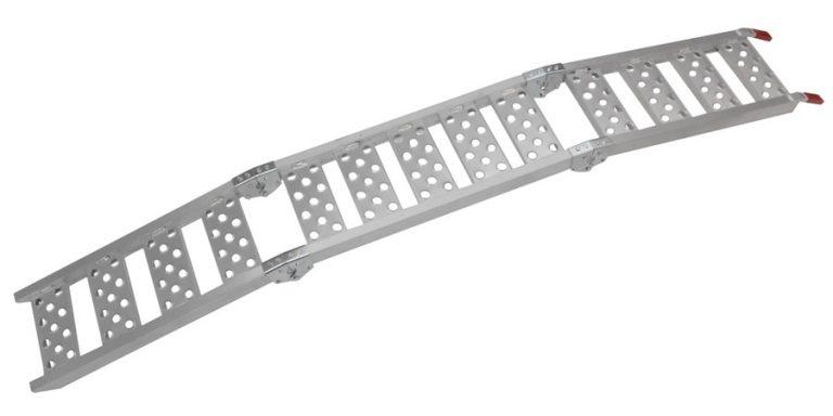 Nájazdová rampa-skladacia-hliníková trojdielna(1ks)
