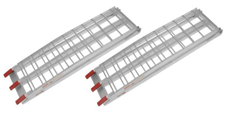 Nájazdová rampa-skladacia-ATV hliníková široká(1pár)
