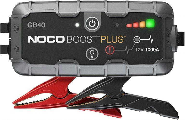 Noco Genius Boost GB40 + power banka