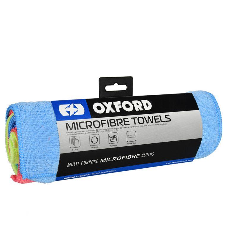 sada 6-tich leštiacich utierok z mikrovlákna, Oxford
