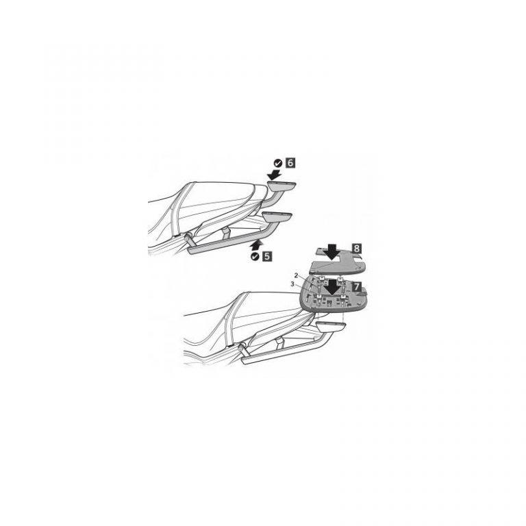 NOSIČ HONDA CB650F/ CBR 650 R Shad