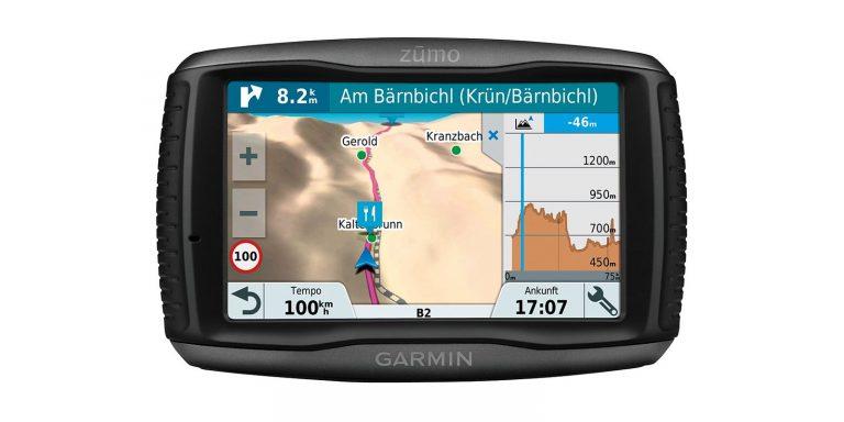 Garmin, Zumo 595LM Travel Edition navigácia